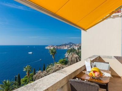 Photo for 665 m from the center of Dubrovnik with Internet, Air conditioning, Terrace, Balcony (740112)