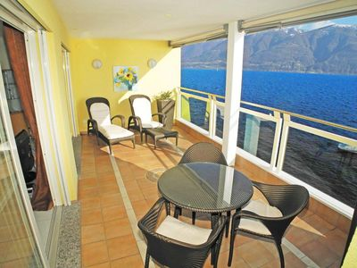 Photo for Charming and modern 3.5-room apartment (90m2) in the residence Acapulco in Port