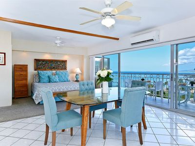 Photo for Million Dollar Ocean Views plus FREE Secure Onsite Parking and WIFI!