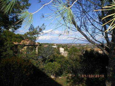 Photo for Relaxation, leisure and well being in pine forest, swimming pool, park, panoramic view