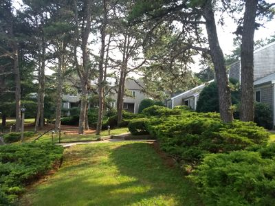 Southcape Resort Condo II section-wooded units