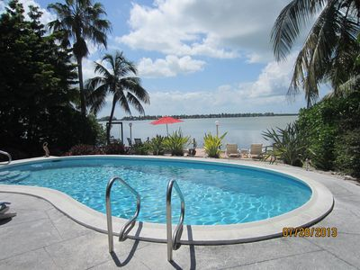 Large professionally maintained, heated  in ground pool.