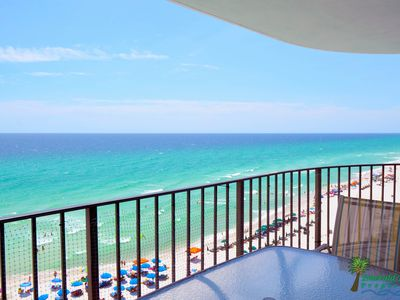 Welcome to Neptune's Reef, you are not going to believe this view from your private balcony!  This is a great place for watching the beach and enjoying outdoor dining.