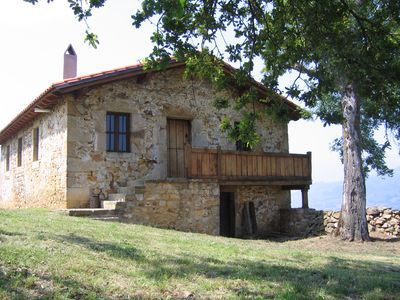 Photo for Typical dwelling of the valley of the Pas located in a farm of green pastures