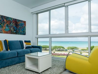 Photo for Color up your life, chill and enjoy at this oceanview condo. Blue-335