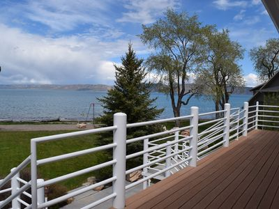 Photo for New! Spectacular 4-bedroom Townhome ON THE BEACH at Bear Lake