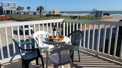 Sun, Surf, Sea!  Great views and ocean breeze from large balcony!