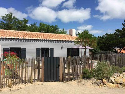 Photo for Ile de Noirmoutier, in the dunes, in the heart of the village, 250m from the beach