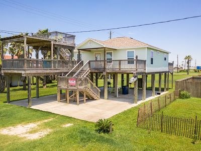 Photo for **DECKS GALORE ** GULF VIEWS AS FAR AS THE EYE CAN SEE!! Great for entertaining!