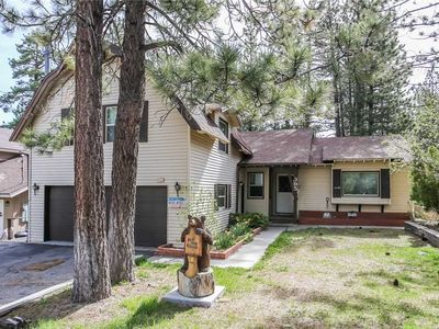 Photo for Bear Hug Hideout: 3 BR / 2 BA home in Big Bear Lake, Sleeps 9