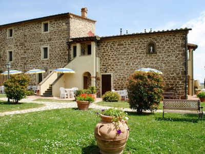 Photo for Apartment Podere Jacopo (MVC273) in Montecatini Val di Cecina - 5 persons, 2 bedrooms