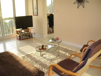 Photo for 70m2 apartment adjoining the Sables d'Olonne, 500m from the beach