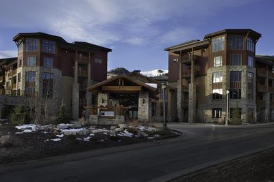 Sunrise Lodge, a Hilton Grand Vacation Club property located at The Canyons