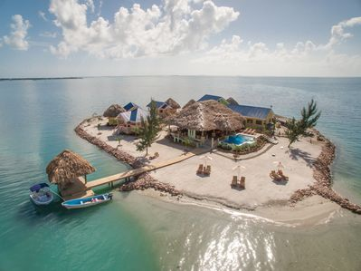 Exclusive Private Island with 360 degree view of the ocean  - Placencia