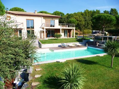 Photo for vacation holiday villa rental france, southern france, riviera, cote dazur, near st. tropez, pool, near beaches, vacatio