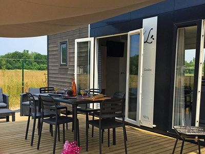 Photo for Campsite Les Grosses Pierres ***** - mobil Home VIP 4 Rooms 6 People
