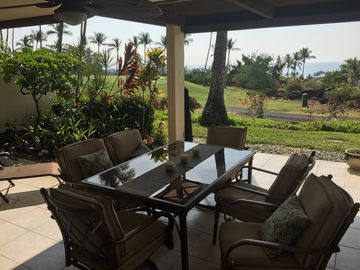Sit back, relax on your own spacious private lanai