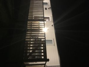 Photo for Caravan and decking.