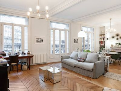 Photo for Design apartment in the heart of Paris for 5p