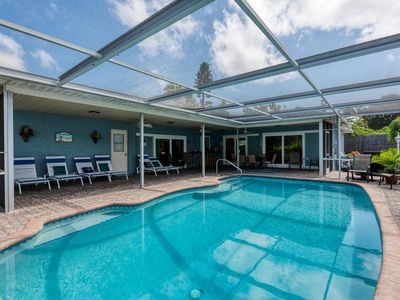 Photo for Montauks Point! 5 Bedroom Pool Home Minutes away from local Beaches!