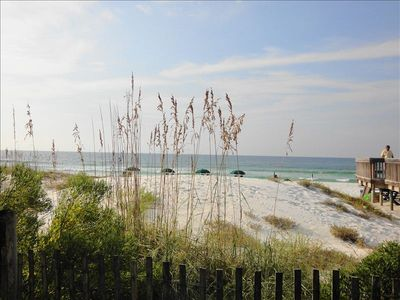 Photo for Beautifully Decorated Beach Front Waters Edge Unit, Huge Pool