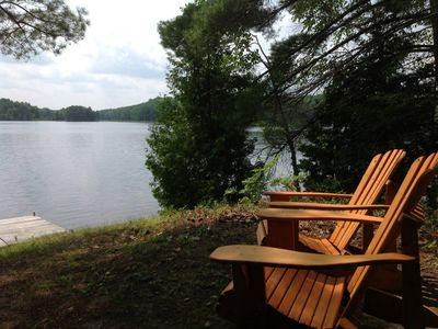 Photo for THE PHOEBE--Nettie Bay, MI:  14' rowboat included, screened-in porch, ATV friendly
