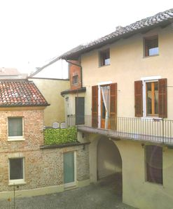 Photo for romantique self contained apartment in Asti's  medieval town center for couples