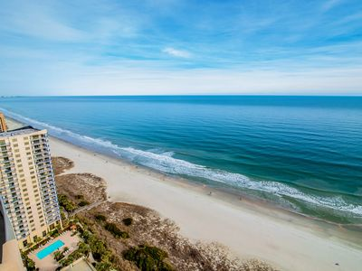 Photo for Oceanfront Condo. Bonus Den / 3rd BR and Extra Deep Balcony to Enjoy the Beautiful Sunrise!