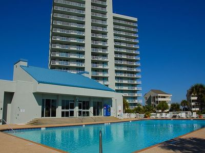 Photo for Nicely-decorated Tristan Towers two bedroom, wraparound balcony!
