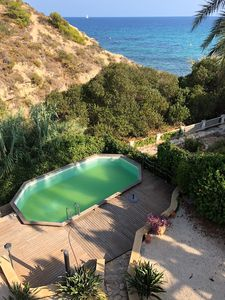 Photo for First line villa Calpe,12p,private pool,wifi,pooltable,sky