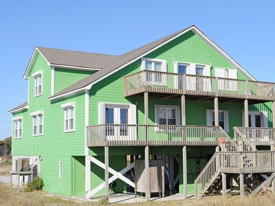 Photo for 5 BR / 3 BA Oceanfront home with Community Pool - Hampton Dunes