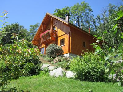 Photo for Cottage, Chalet in Alsace with private SPA and Sauna-WIFI Vosges mountains