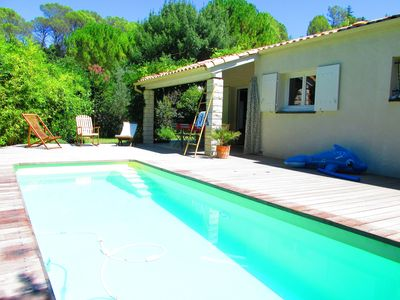 Photo for Family Pool Villa 20 minutes from Montpellier