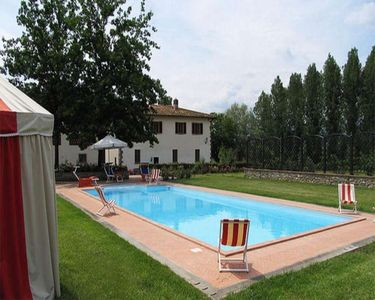 Photo for Private Villa with WIFI, private pool, A/C, TV, pets allowed, parking, close to Greve In Chianti