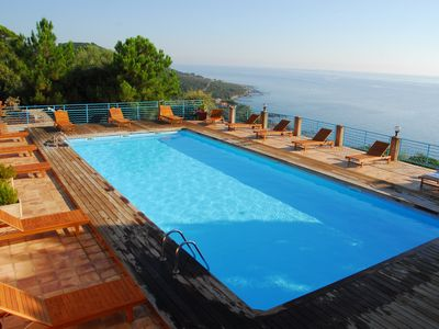 Photo for Rental with heated pool in the residence Monte Marina
