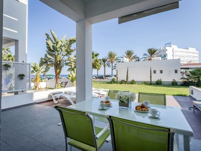 Photo for Beachfront Villa Less Than 50 Meters To All Amenities And Sandy Beaches