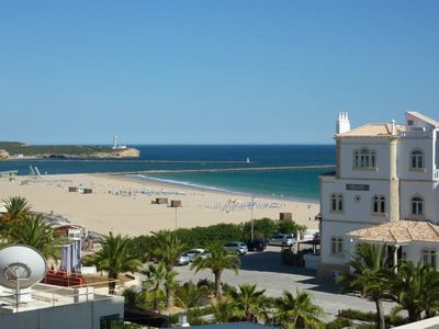Photo for T-2 Praia da Rocha - 1st line of the Beach with sea view and garage