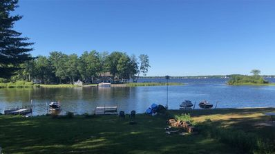 Photo for Lake Mitchell Retreat! Sandy beach! All sports lake!Great for families.