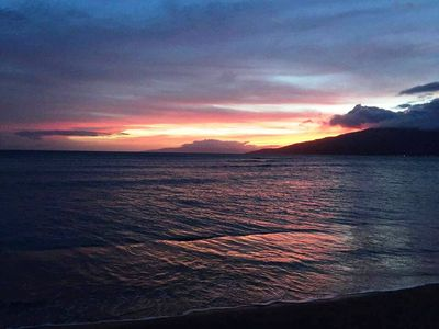 Photo for Maui Sunset 401B  Remodeled w/ full kitchen and partial ocean view.