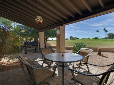 Photo for FREE ACTIVITIES! Right on the Golf Course! Enjoy Golf/Hiking/Biking/Heated Pool/Spa + Fitness Room!