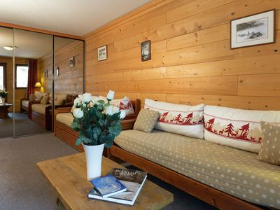 Photo for Savoyards and rustic apartment in the heart of Val d'Isère