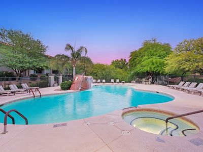 Photo for Beautiful Catalina Foothills Condo **Mountain and City Light Views!**