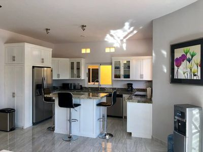 Photo for Ground floor, Large Beautiful Swimming Pool, few hundred steps to Cerritos Beach