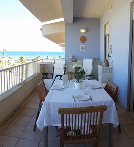 Photo for San Lorenzo Apartment facing the sea, only September still free