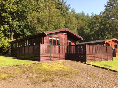 Photo for Lomond Retreat - Luxury Log Cabin at Loch Lomond