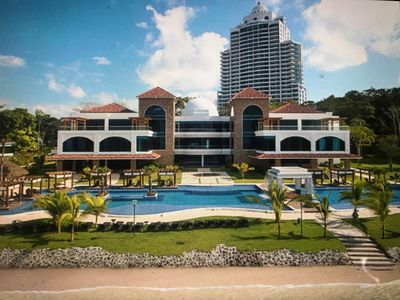 Photo for Luxury Beach Front Apartment in Playa Bonita, 10 minutes from Panama City
