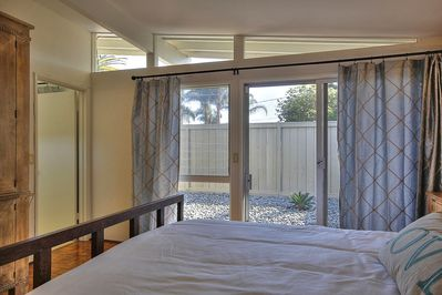 Nice private patio area off master bedroom