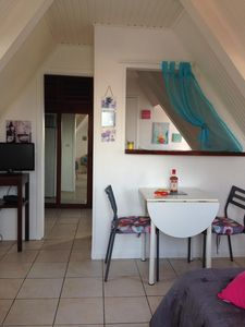 Photo for Charming studio wifi heated swimming pool 20 meters from the beach Anse Mitan