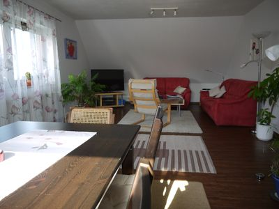 Photo for Apartment 88m ², with 2 bedrooms, a large living and dining room, kitchen, guest toilet, bathroom, balcony