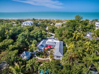Photo for Palmflower House - One home back from beach, boat dock. Pool/hot tub, WiFi